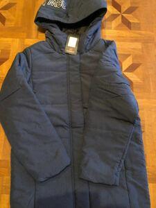 ニューバランスフード付中綿コート