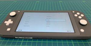 2021年製 Nintendo Switch Lite グレー 本体のみ
