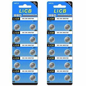LiCB LiCB 20個 SR927SW ボタン電池