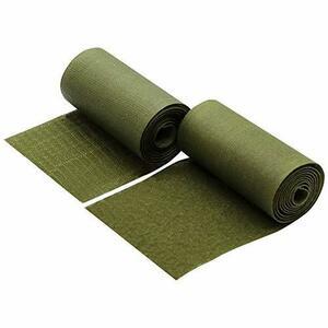 フルパ オリーブグリーン 10cmx100cm Furupa グリーン色の幅広強力面ファスナー 裁縫用 幅10cm×1m サバゲー