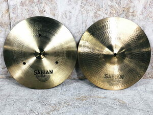 即決◆中古 SABIAN Flat Hats 14 ペア