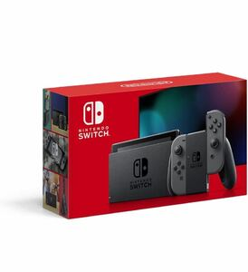 【新品未開封】ニンテンドースイッチ Nintendo Switch 本体 グレー