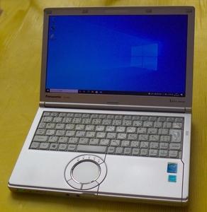9B  Pnasonic CF-NX3 Corei3 4010U / メモリ4GB /SSD128GB / WIFI / 最新のOffice2021最新版 / Win10Pro 64 Bit認証済み