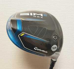 【新品】SIM2 MAX 10.5° SRシャフト テーラーメイド ドライバー TENSEI BLUE TM50 シム2 TaylorMade ヘッドカバー、レンチ、保証書付き