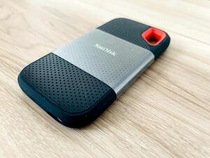 SanDisk 超高速ポータブルSSD 2TB USB3.2Gen2 読出最大1050MB/秒