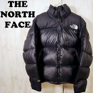 ザノースフェイス THE NORTH FACE ヌプシダウンジャケット 700フィル ブラック サイズS