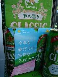 北海道限定サッポロクラシック春の薫りロング缶24本