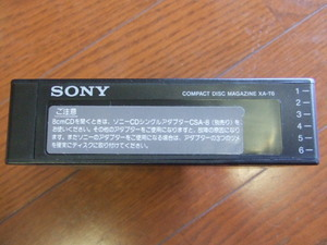 k853 * SONY произведено     CD ченджер    XA-T6    журнал    6 ...  *