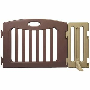 Kids partition exclusive use addition panel set nihonikuji Japan childcare 4955303202575 Brown (1 set ) child clothes goods for baby [ used ] new arrivals