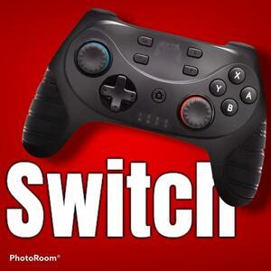最新モデル スイッチコントローラー 連射機能付 ワイヤレス プロコン