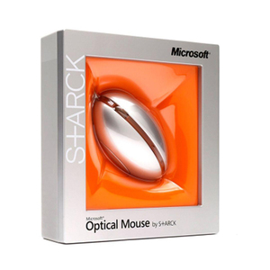 Microsoft Optical Mouse by S+ARCK Orange BI2-00012