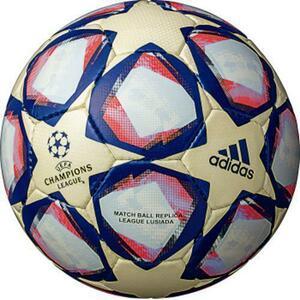 【未使用】adidas チャンピオンズリーグ ルシアーダ AF4401BRW 4号球 サッカーボール 小学生用