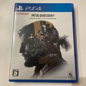 METAL GEAR SOLID メタルギアソリッド5 THE PHANTOM PAIN GROUND ZERO PS4