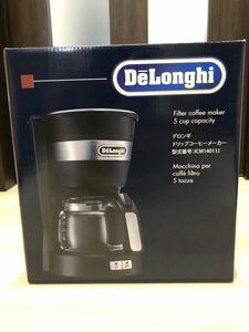 デロンギ(DeLonghi) ドリップコーヒーメーカー ICM14011J【新品・未使用】