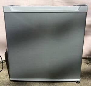 【ジャンク品】冷媒漏れ・部品取り用 アイリスオーヤマ 46L 小型冷蔵庫 PRC-B051D シルバー 2020年製