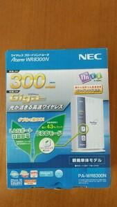 中古美品 11n対応無線LANルーター Aterm PA-WR8300N