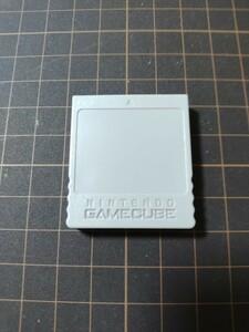 【漂白・研磨済み】ニンテンドー純正 ゲームキューブ メモリーカード59