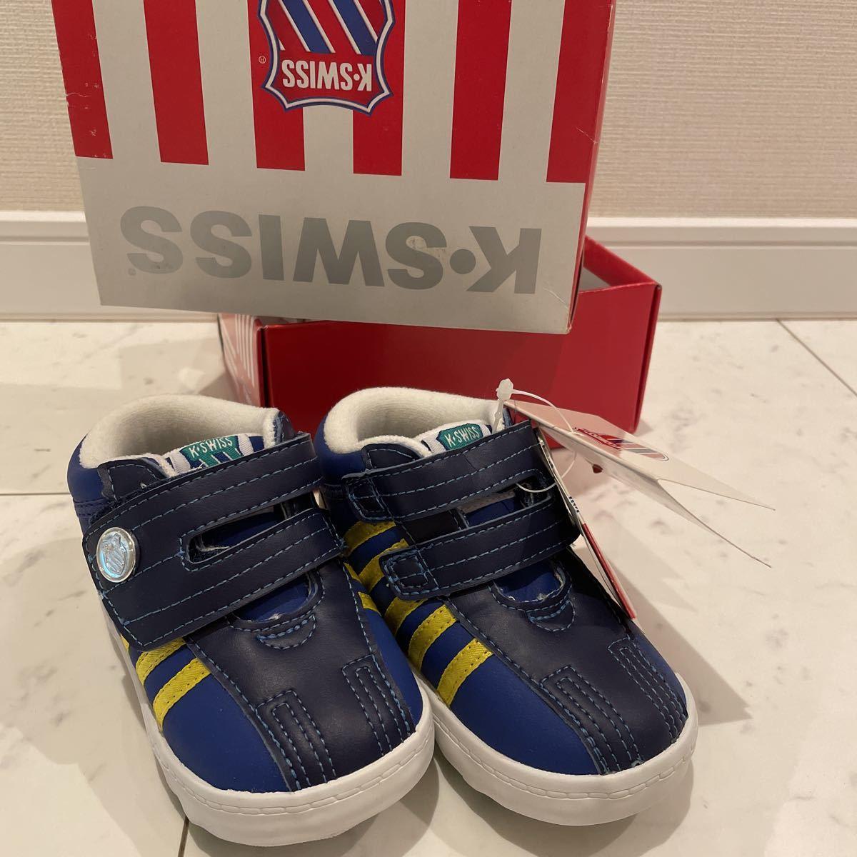 未使用 K・SWISS 子供 スニーカー 靴 14.0