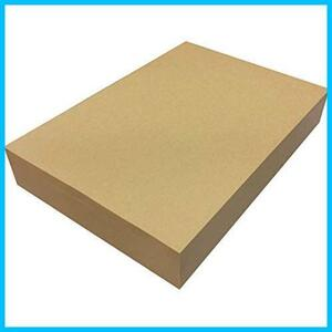 ★大特価★ブラウン 55021 ブックカバー ラッピング 包装紙 コピー用紙 WQ-YU 500枚 未晒 75.5kg A4 クラフト紙 ペーパーエントランス