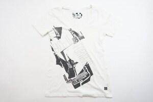 中古 13/14 VOLCOM Tシャツ/ホワイト レディースSサイズ スノーボード インナー ボルコム