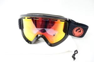 中古 19/20 DRAGON フリーサイズ ソフトケース付き スキー スノーボード ゴーグル ドラゴン
