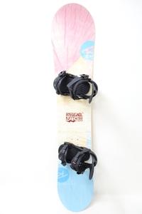 中古 19/20 ROSSIGNOL MYTH LTD レディース139cm RIDE ビンディング付き スノーボード ロシニョール マイス リミテッド ライド