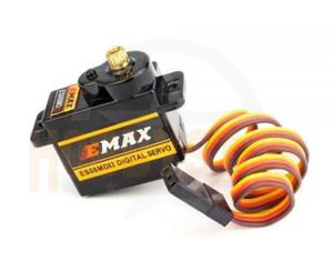 送料無料 EMAX ES08MD-II デジタル マイクロサーボ 3個セット メタルギア