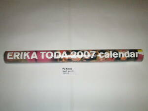 Toda . pear .2007 year with autograph calendar pink unused