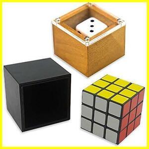 新品ABINECS テーブルマジック (2種セット) 日本語説明書付 ダイスマジックと一瞬で揃うルービックキューブ EM66