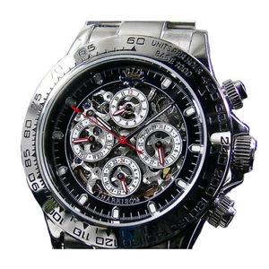 送料無料 J.HARRISON/ジョンハリソン 自動巻き腕時計 JH-003SB