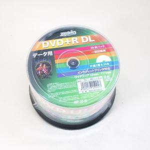 送料無料 データ用 DVD+R DL 片面2層 8.5GB 50枚 HIDISC 8倍速対応 インクジェットプリンター対応 HDD+R85HP50/0023x2個セット/卸