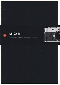 Leica Leica M /The freedom to capture the decisive moment catalog ( new goods )