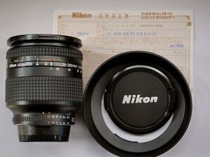 Nikonニコン AF Zoom Nikkor 28~200mm F3.5~5.6D(IF)(未使用)