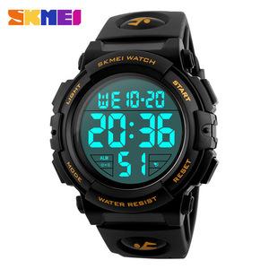 新ブランド腕時計男性スポーツアウトドアファッションデジタル腕時計多機能 50 メートル防水腕時計メンズ腕時計腕時計 Skmei