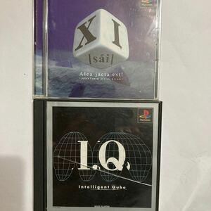 プレステ PSソフト iQ intelligent qube sai XI 2本セット