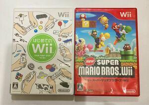 任天堂 ニュー・スーパーマリオブラザーズ・ Wii new super Mario bros.wii はじめてのwii