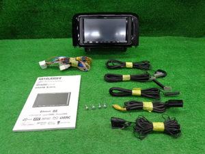 良品!! タント カスタム L375S L385S 純正 オーディオ パネル 三菱 NR-MZ50 ナビ 2011年 DVD CD フルセグ TV 地デジ SD AUX USB Bluetooth