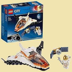ラスト1点 新品 シティ レゴ(LEGO) 9-T9 おもちゃ 男の子 人口衛星を追うジェット機 60224 ブロック