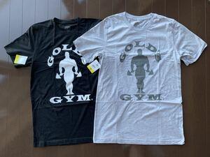 ゴールドジム Tシャツ セット 黒 グレー