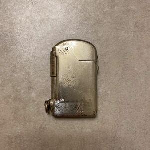 希少 オイルライター アンティーク オートマチック Vtg DUBSKY STANDARD サイドフィラー プッシュボタン
