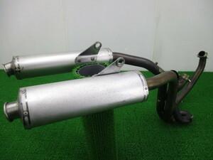 中古 ビモータ 純正 バイク 部品 SB8R マフラー 純正 505115020 BIMOTA コケキズ無し 修復素材に 車検用に 車検 Genuine