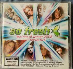 洋楽CD,so fresh, the hits of winter 2008+bonus DVD 輸入版