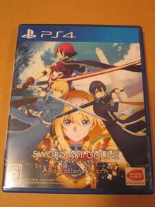 PS4 ソードアート・オンライン アリシゼーション リコリス 送料無料