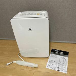 展示保証付き☆トヨトミ 衣類乾燥除湿器 TD-ZBS80J W デシカント式除湿機/TOYOTOMI/持ち運びハンドル/壁にぴったり設置/銀イオンフィルター