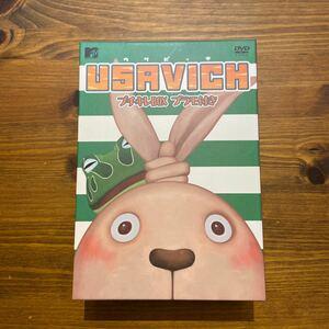 ウサビッチ DVD-BOX USAVICH 中古美品 プラモ未開封 数量限定商品 希少品 新品12000円ほど