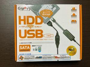 Groovy SATA-USB2.0変換アダプタ UD-505SA 内蔵HDDからのデータ読み込みに
