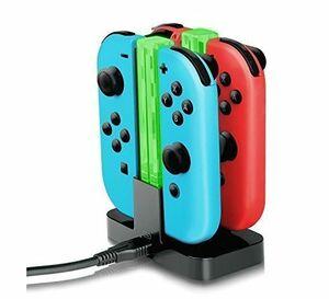 ◆送料無料◆任天堂スイッチ Nintendo Switch 充電器スタンド ニンテンドースイッチ ジョイコン コントローラー充電 互換品