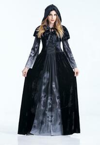 コスプレ レディース ハロウィン 大人用 衣装 コスチューム 舞台 イベント パーティー 魔女 女王 CSN308