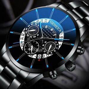 2020 男性の高級時計リロイhombreレロジオmasculinoステンレス鋼カレンダークォーツ時計メンズスポーツ腕時計ジュネーブ時計 WCYB691