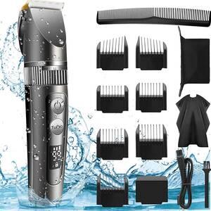 バリカン 電動バリカン ばりかん メンズ こども用 ipx7防水 水洗い 散髪 ヘアカッター